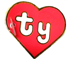 1st Generation Swing Heart Tag for Ty Beanie Babies