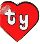2nd Generation Heart Tag for Ty Beanie Babies