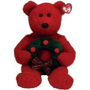 Ty Beanie Buddy - 2006 Holiday Teddy
