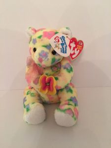 Ty Bloom Beanie Baby with FTD Tag