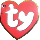 3rd Generation Heart Tag for Ty Beanie Babies