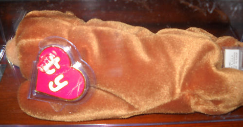 Rare Ty Beanie Baby Brownie
