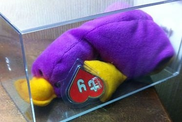 A Deep Fuscia PATTI Beanie Baby sold for  305 plus  10 for shipping on  January 31 267b771c2cb