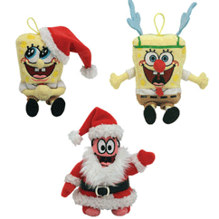 2007 Spongebob Jingle Beanies