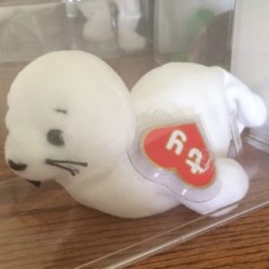 bf6857f67bb 1st Generation Seamore the Seal Beanie Baby Sells for  975